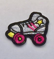 Roller Skate -  Embroidered Cloth Patch
