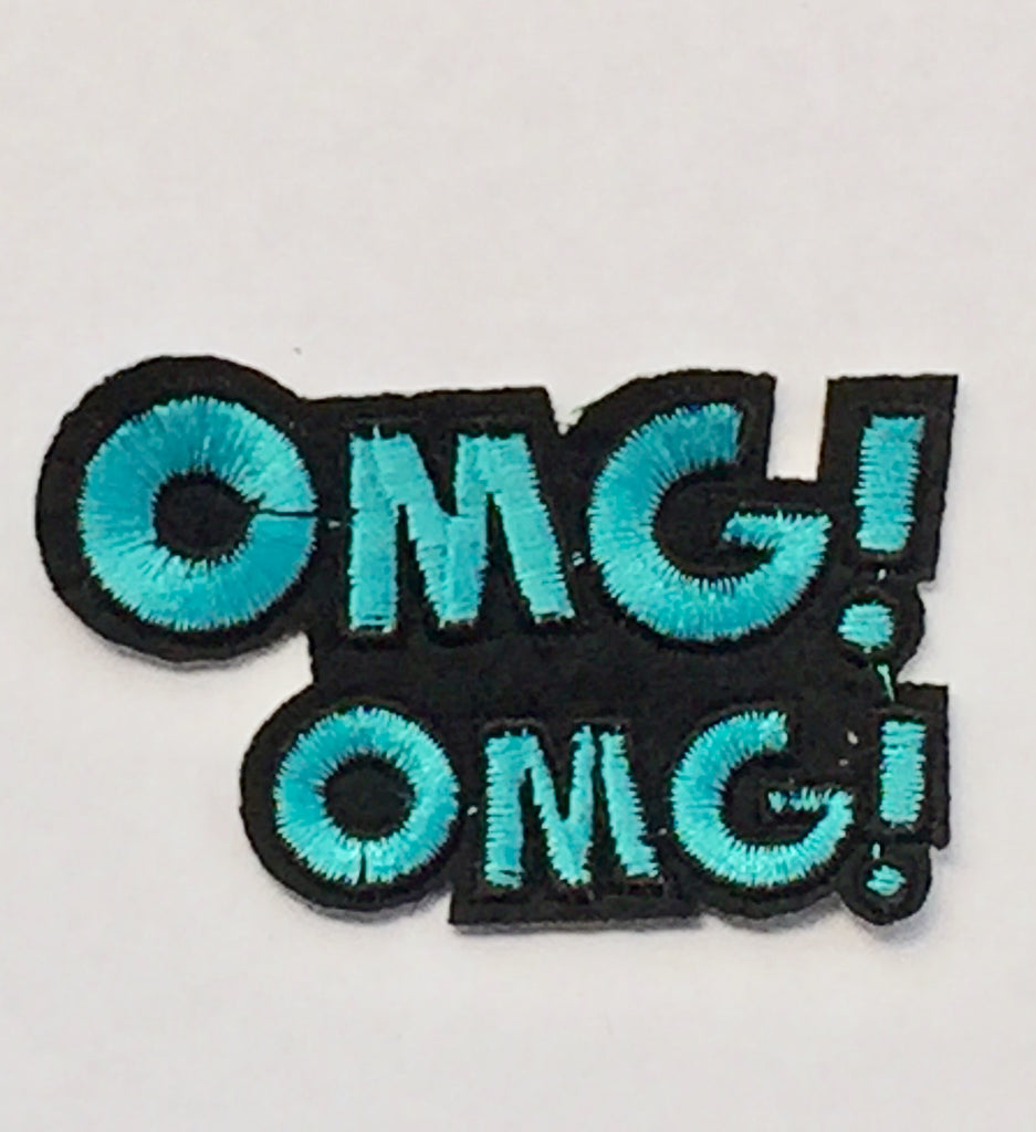OMG- Embroidered Cloth Patch