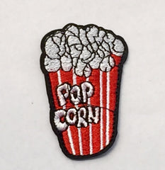 Popcorn Box - Embroidered Cloth Patch