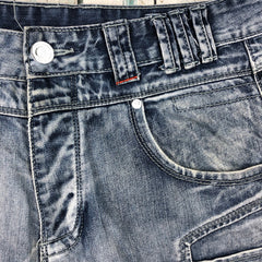 DL Project Daniel Lei Denim Panelled Jeans- Size 32