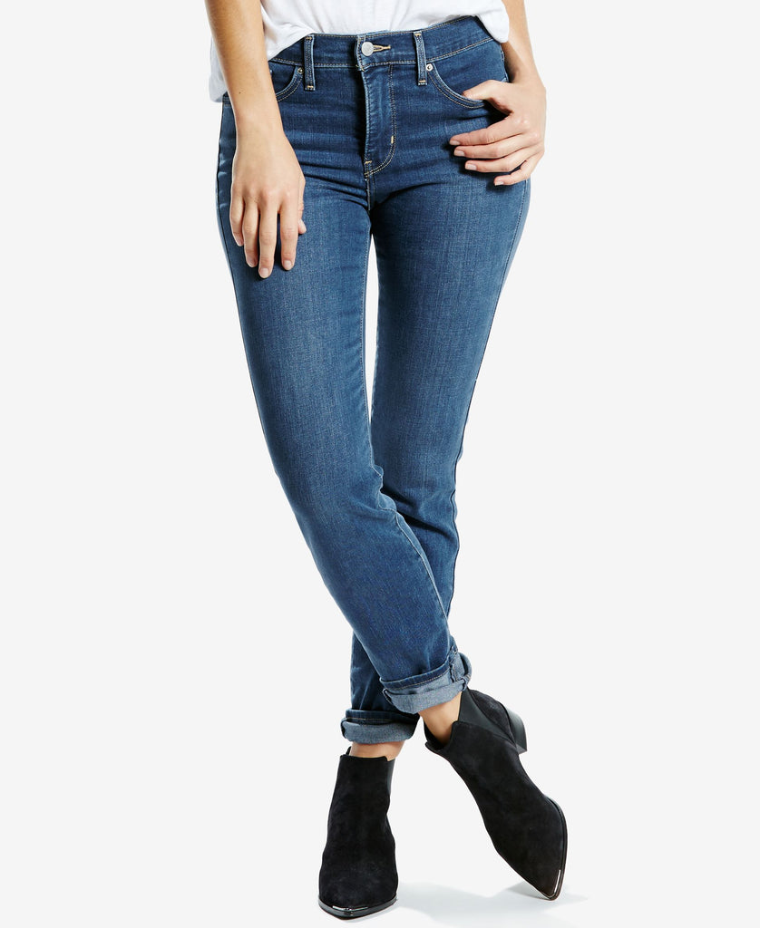 Levis Ladies 312 Shaping Slim Blue Jeans