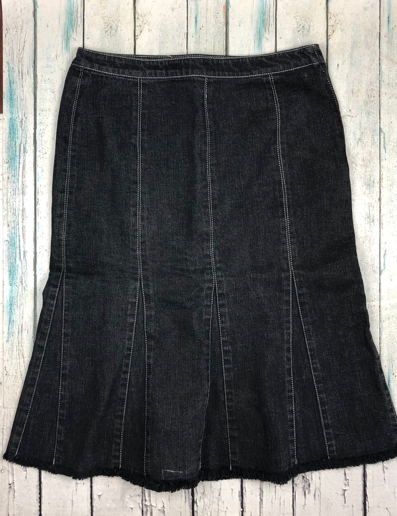 Sonia Rykiel Panelled Denim Skirt - Size 10/12