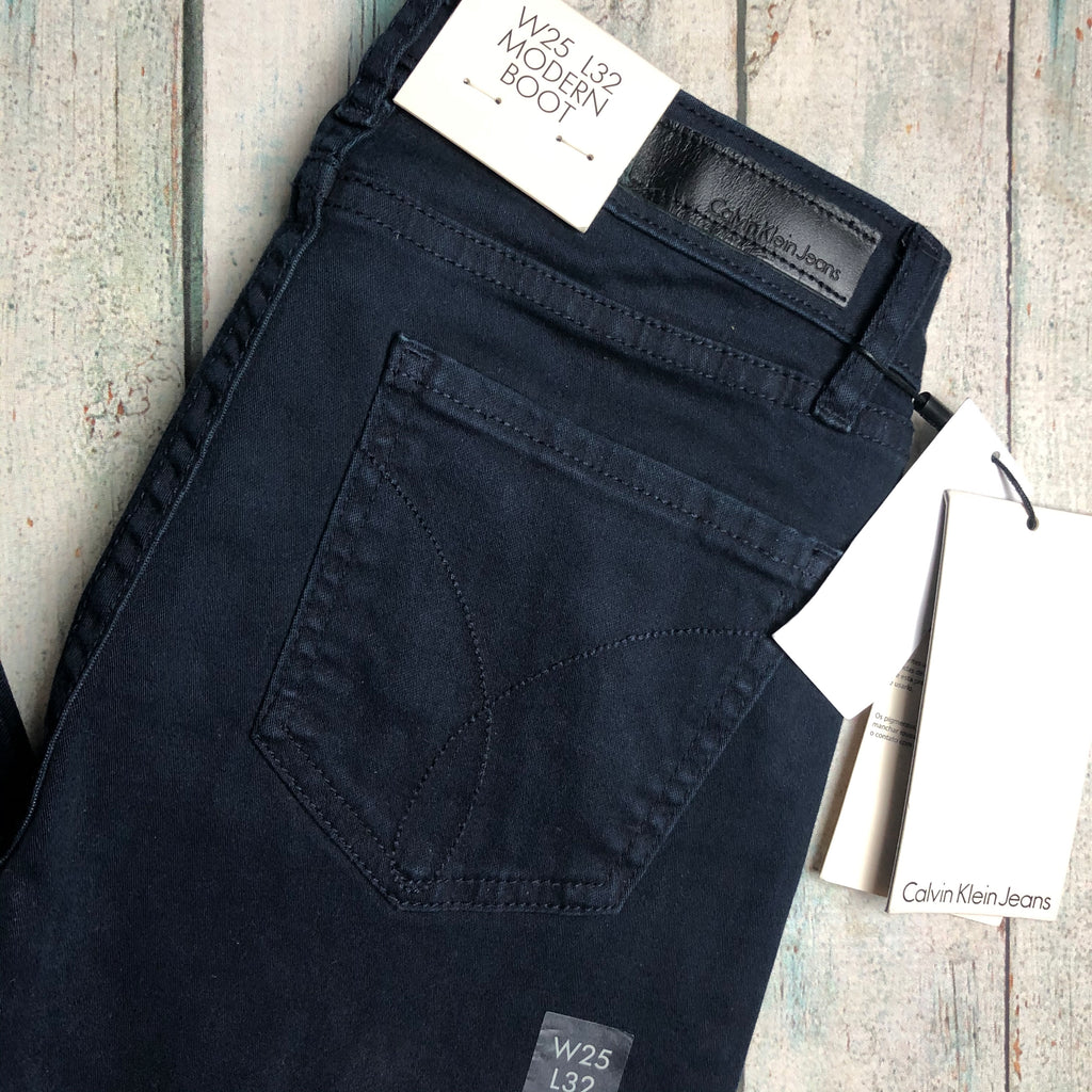 Calvin Klein Jeans Modern Boot Skinny - Size 25