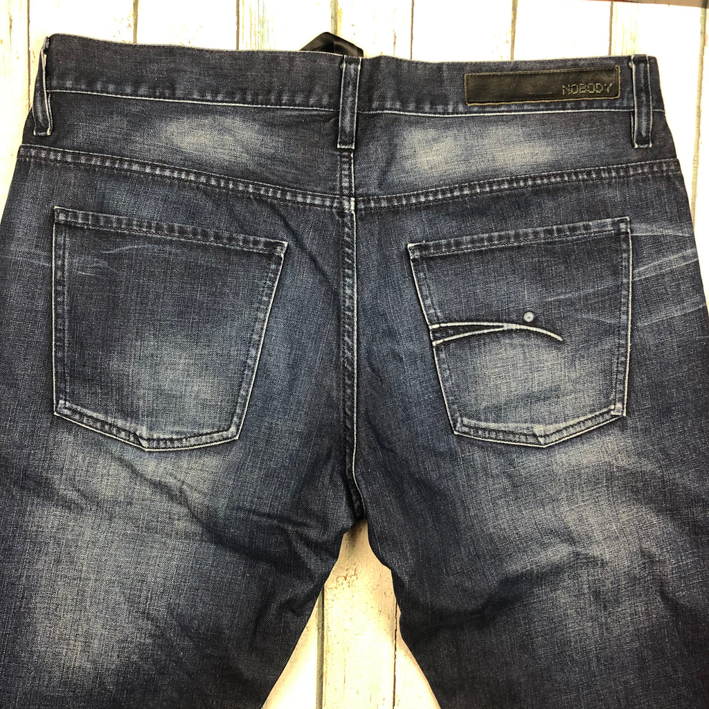 Distressed Easy Fit NOBODY Mens Jeans - Size 36