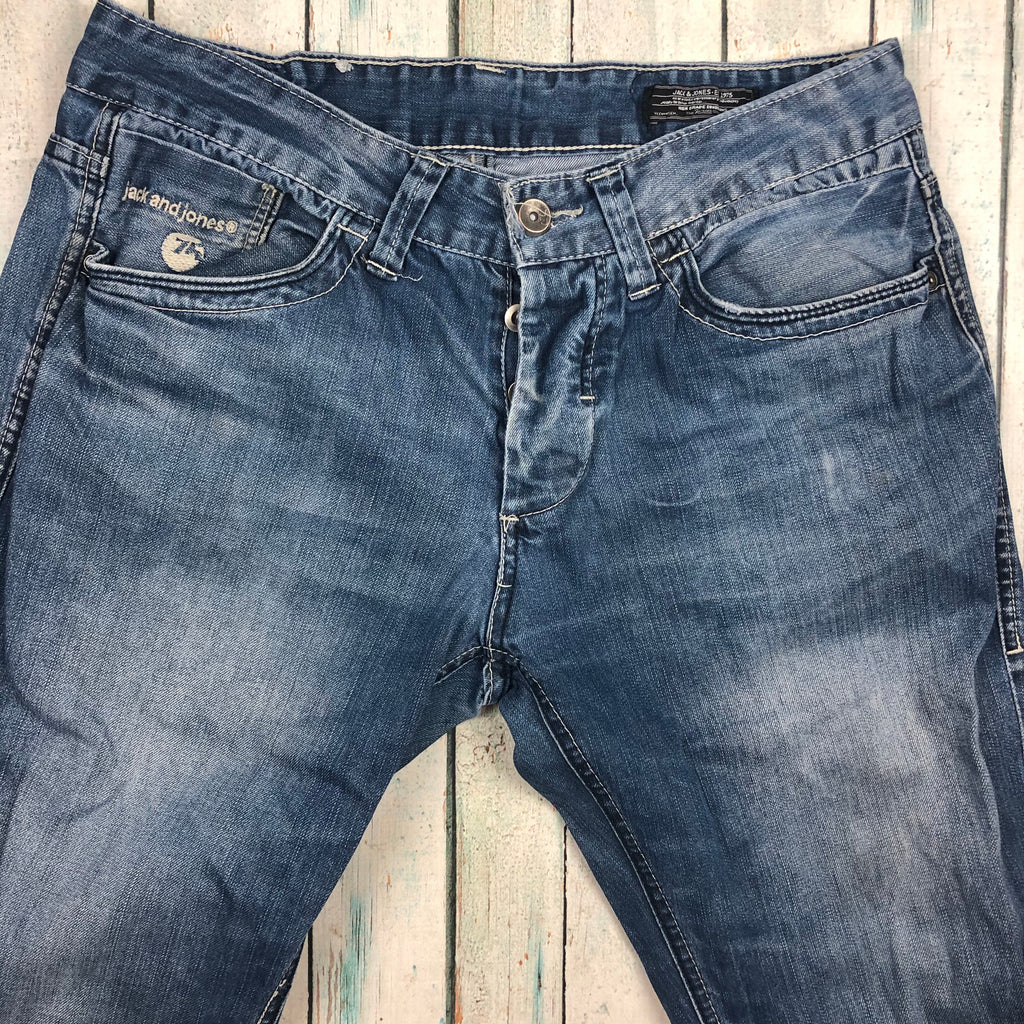 Jack & Jones Destroyed 'Cross' Jeans -Size 34/34