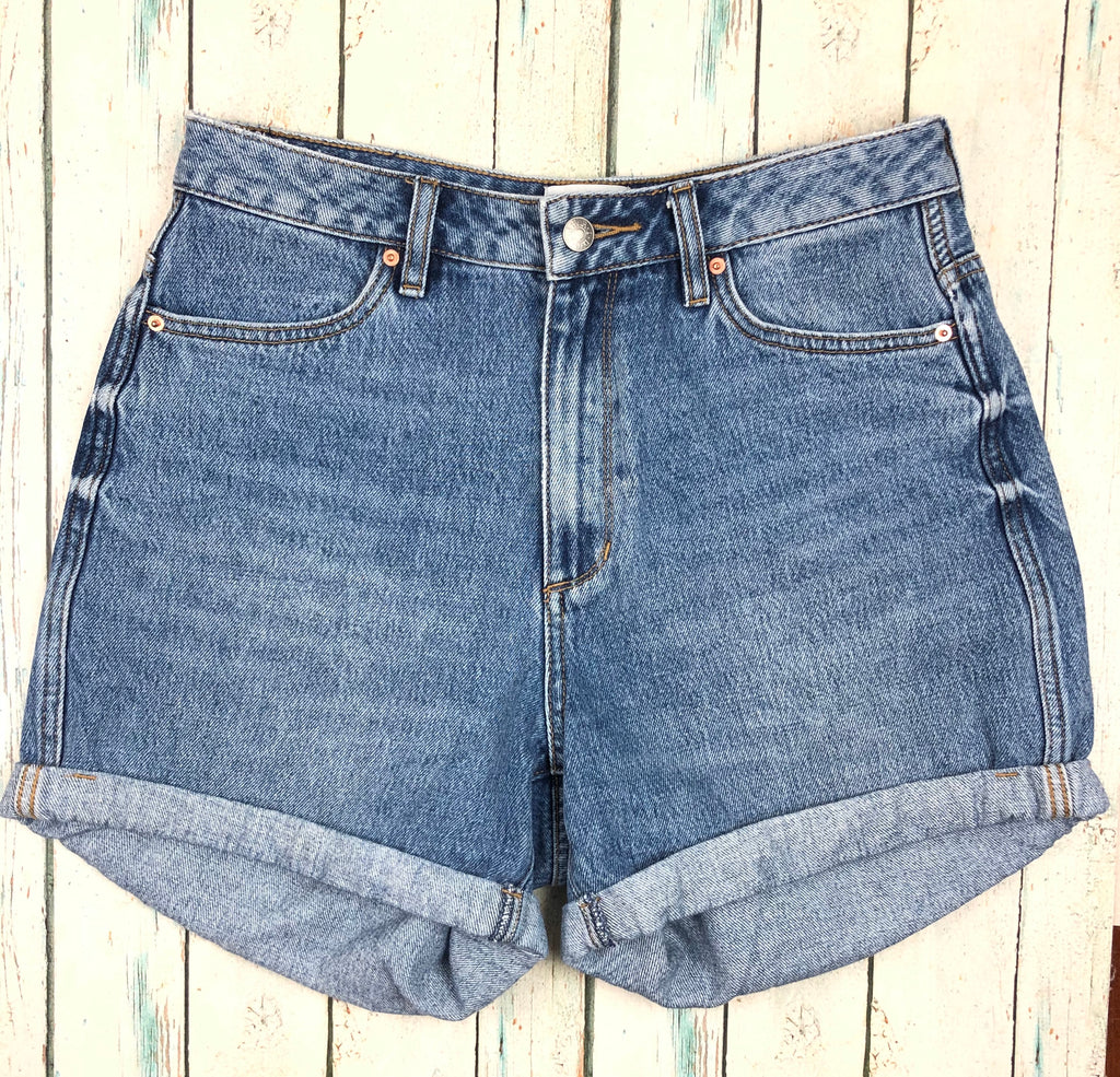 Lee Riders 'Girlfriend' High Rise Shorts  - Size 10