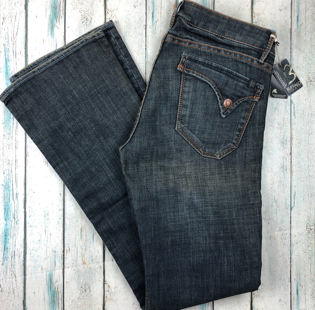 NWT - Buffalo David Bitton 'Phalton' Straight Stretch Jeans- Size 30/33-Jean Pool