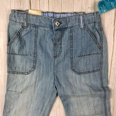 NWT - LC Waikiki Girls Convertible Lightweight Jeans - Size 2/3-D.Patrici-Jean Pool