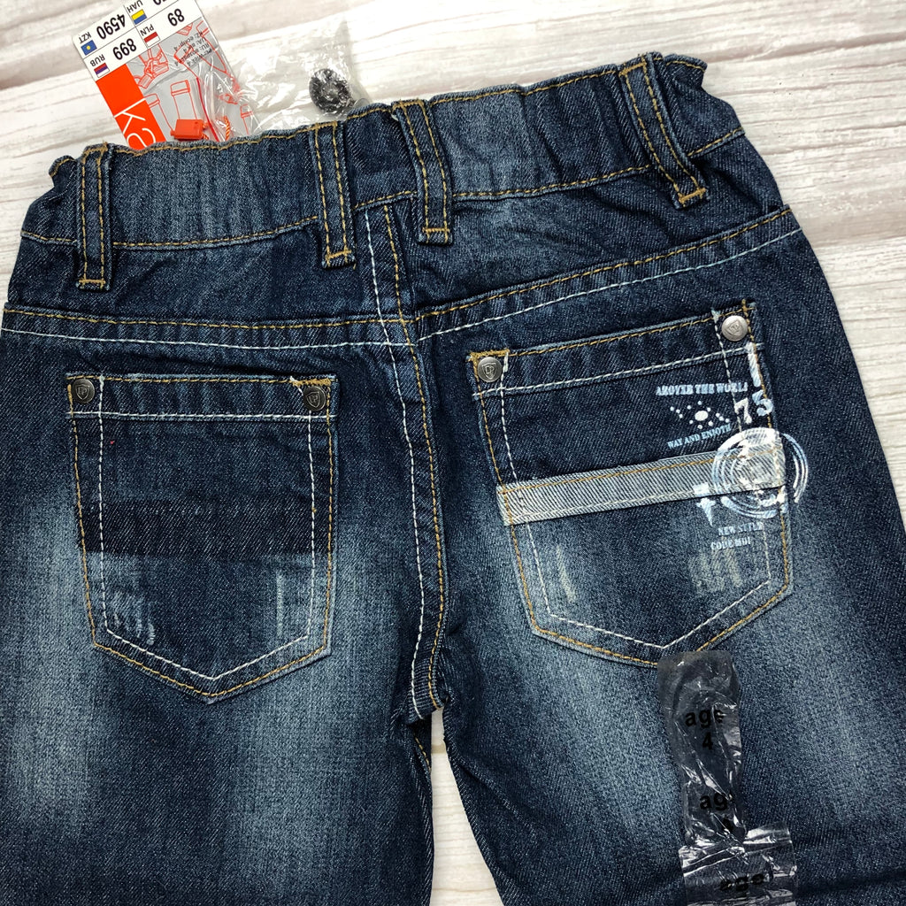 NWT - D.Patrici Boys Classic Jeans - Size 4
