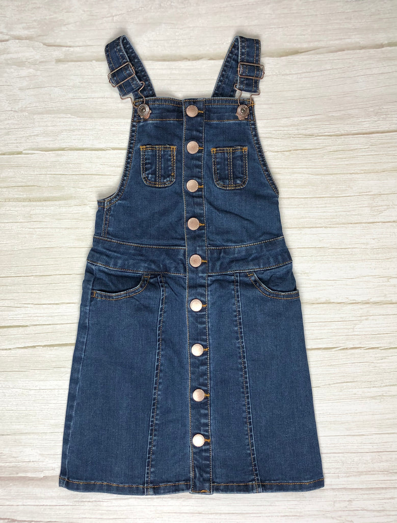 Country Road Girls Denim Pinni Dress -Size 4