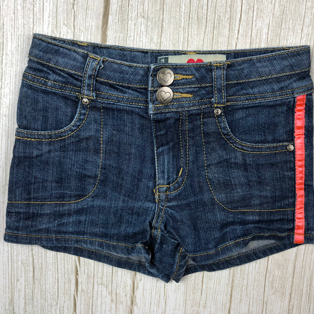 Girls Gumboots Denim Shorts - Size 4/5 Years