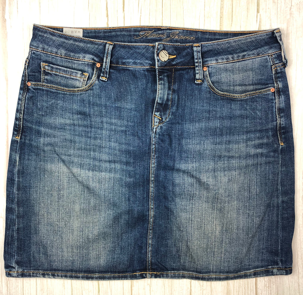 Mavi 'Alice' Stretch Denim Jean Skirt - Size M