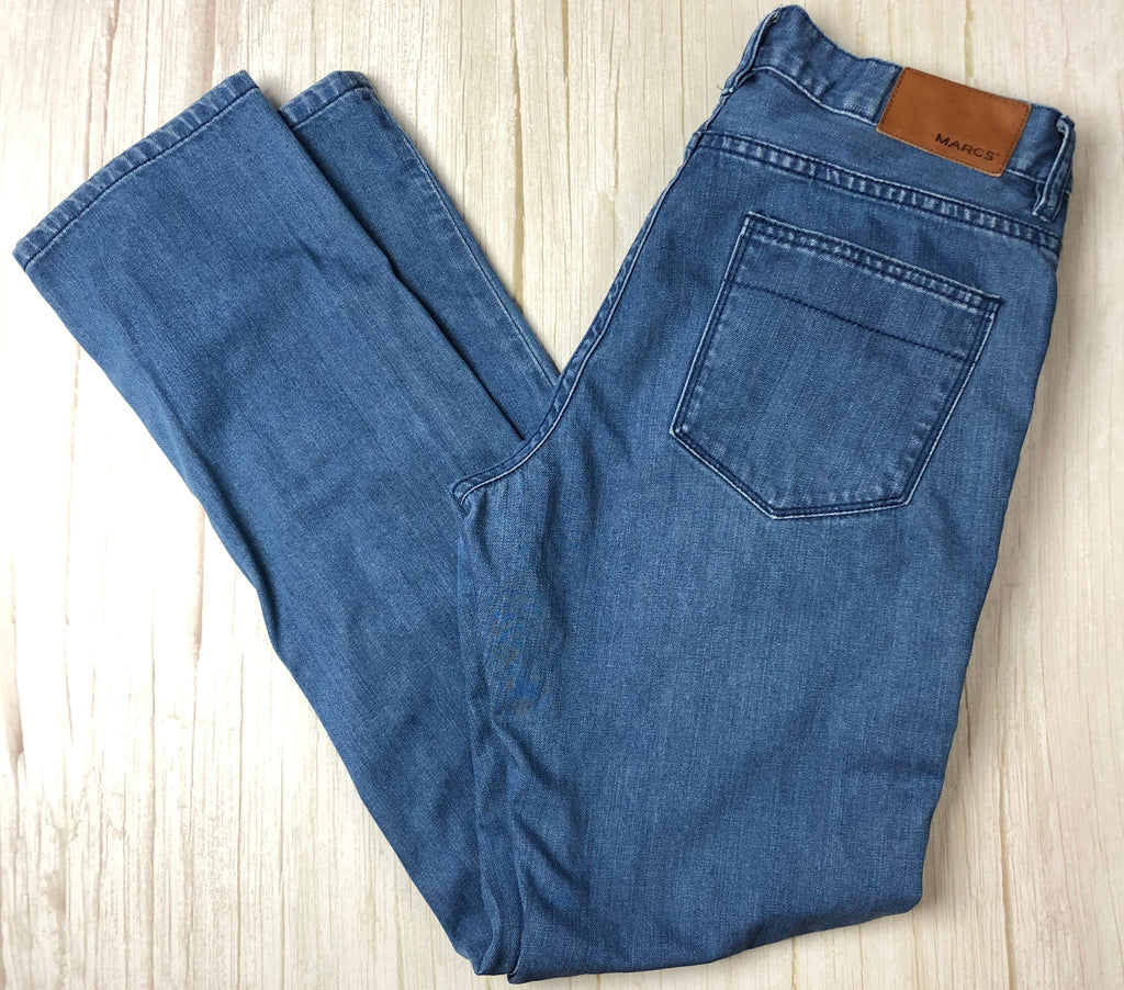 Marcs Slim Fit Mid Blue Jeans -Size 32-Jean Pool