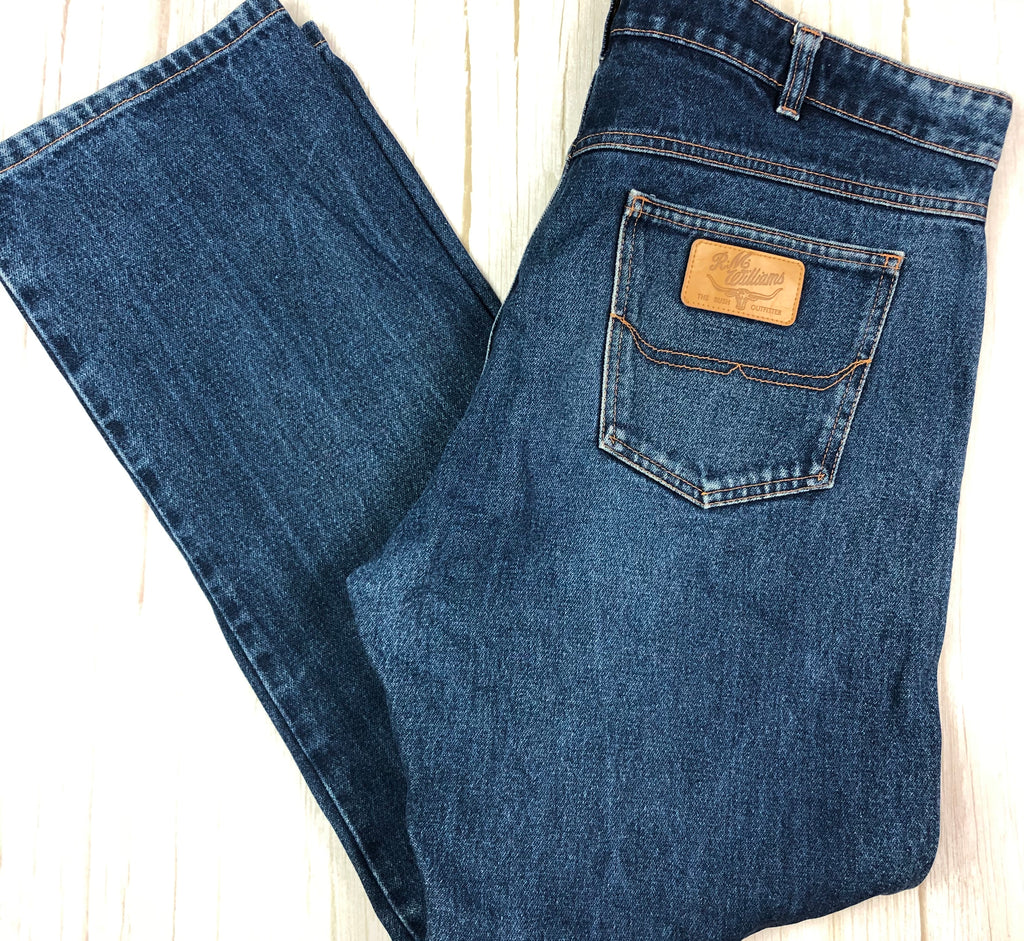 Aussie Made R.M. Williams Mens Classic Fit Jeans- Size 36
