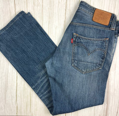 Levis Slim Straight 522 Denim Jeans - Size 31