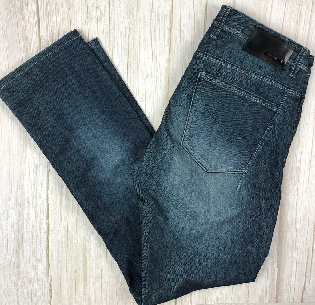 Politix 'Hellraiser' Slim Distressed Denim Jeans -Size 32