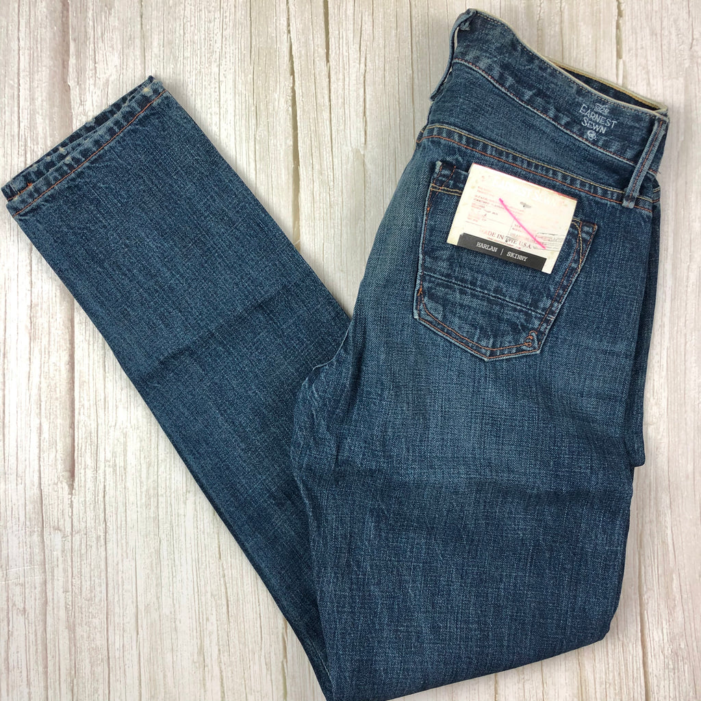 "NWT- Earnest Sewn  ""Harlan"" Rickie Limited Edition  Selvedge Skinny Jeans - Size 26"