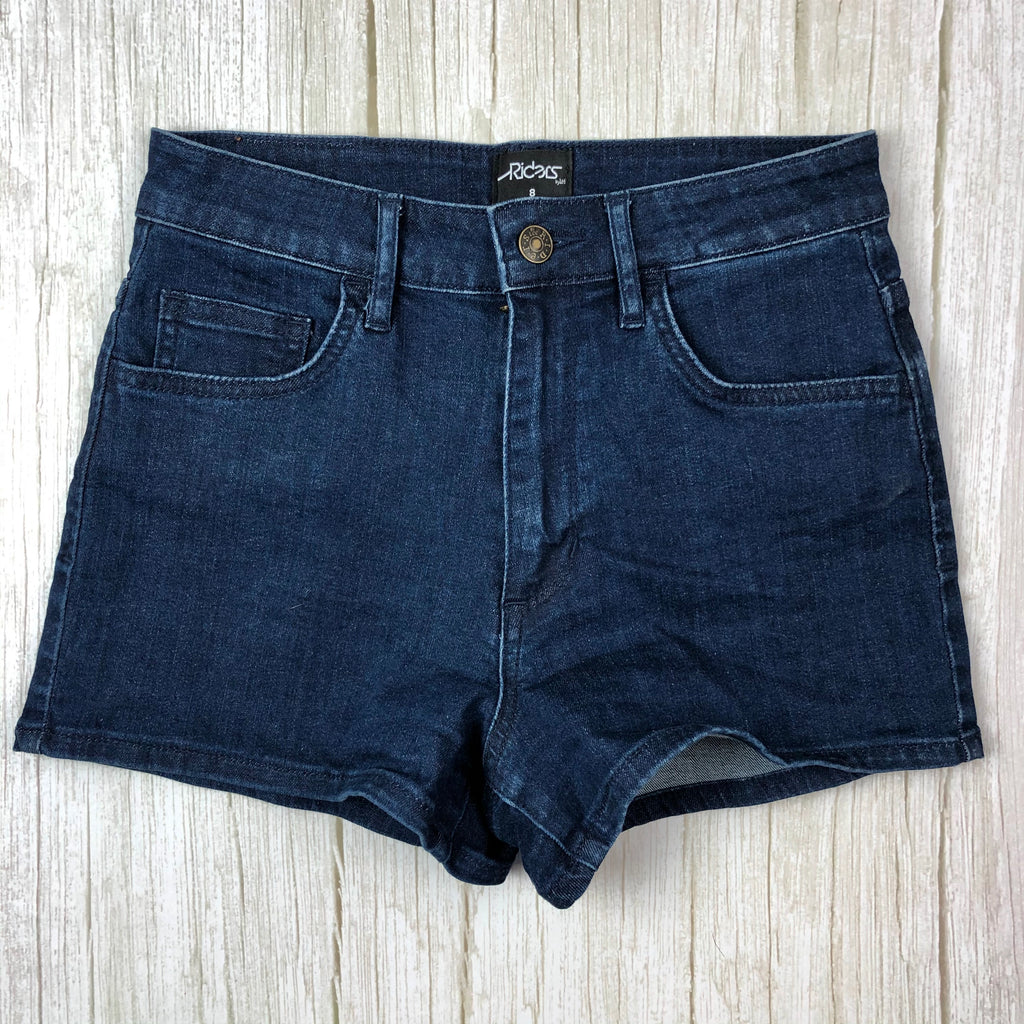 Lee Riders 'Cheeky Shorts' High Rise Stretch Denim   - Size 8