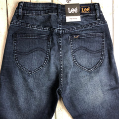 NWT - Lee 'High Skinny' Dark Wash Stretch Jeans RRP $129.95 - Size 7