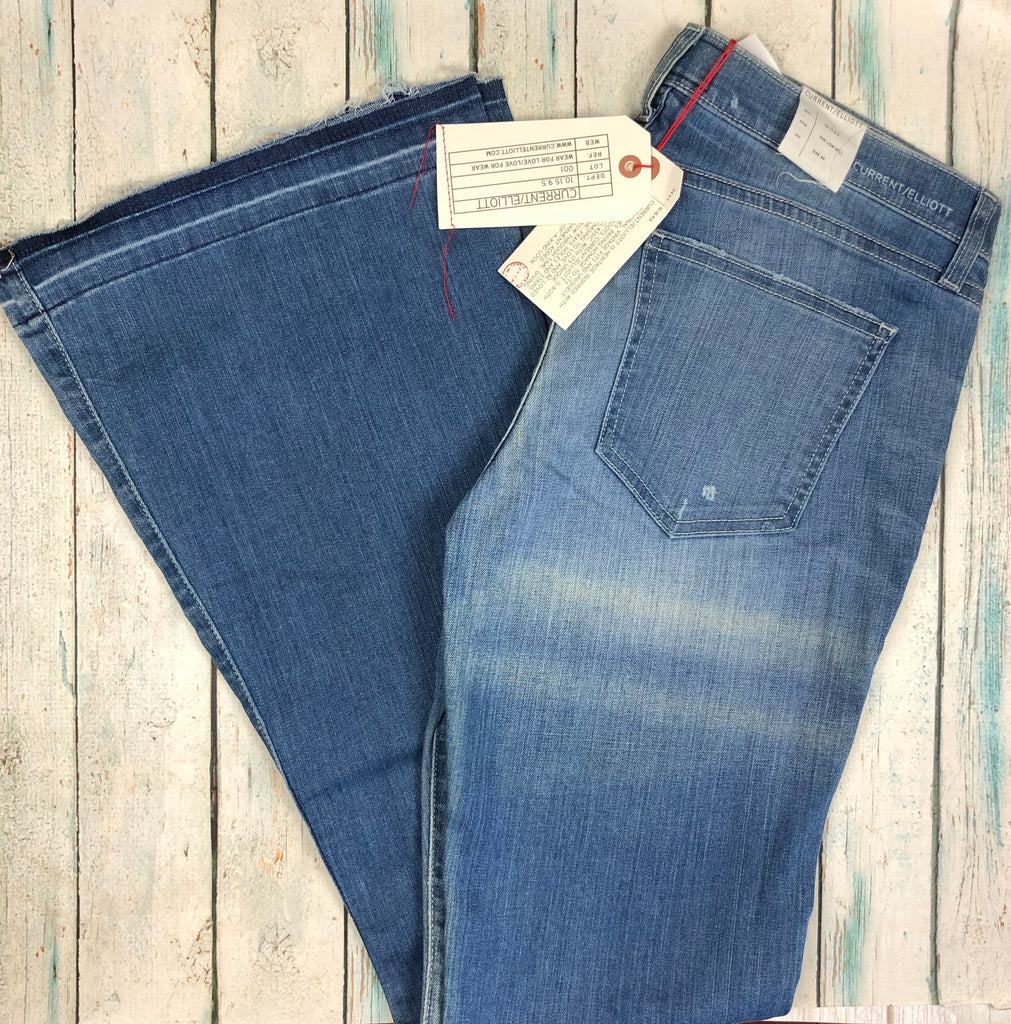 NWT- Current/Elliot 'The Low Bell' Island Hopper Wash Jeans- Size 30-Jean Pool