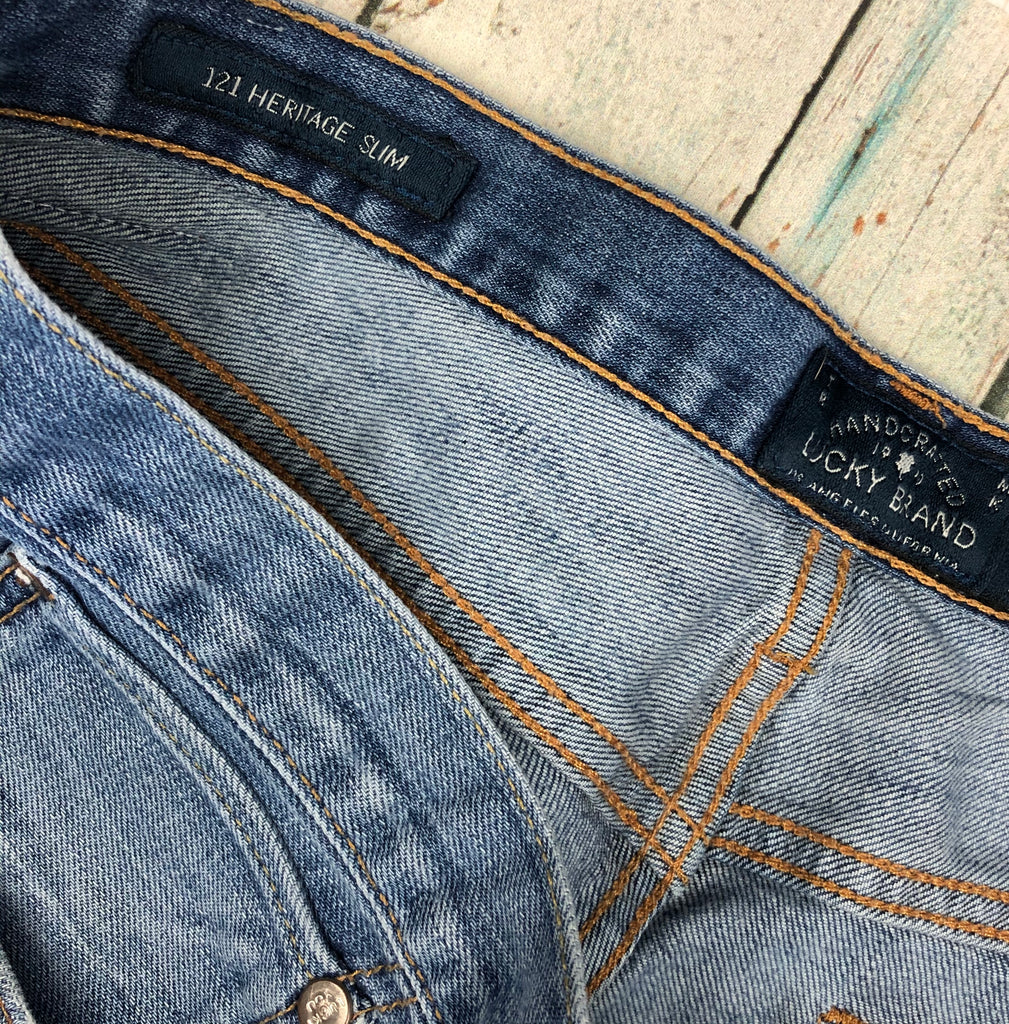 Lucky Brand ' 121 Heritage Slim' Mens Jeans - Size 34S