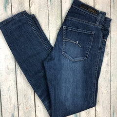 NOBODY Mid Rise Slim Tapered Leg Jeans- Size 28