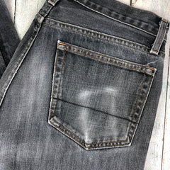 J Crew Canadian Made Charcoal Vintage Slim Jeans - Size 33/32