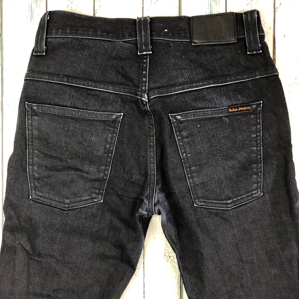 Nudie Jeans Co. 'Thin Finn' Back 2 Black Jeans - Size 29/32