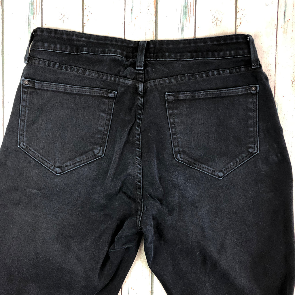 Black Wash Lift & Tuck Legging NYDJ Jeans -Size 18