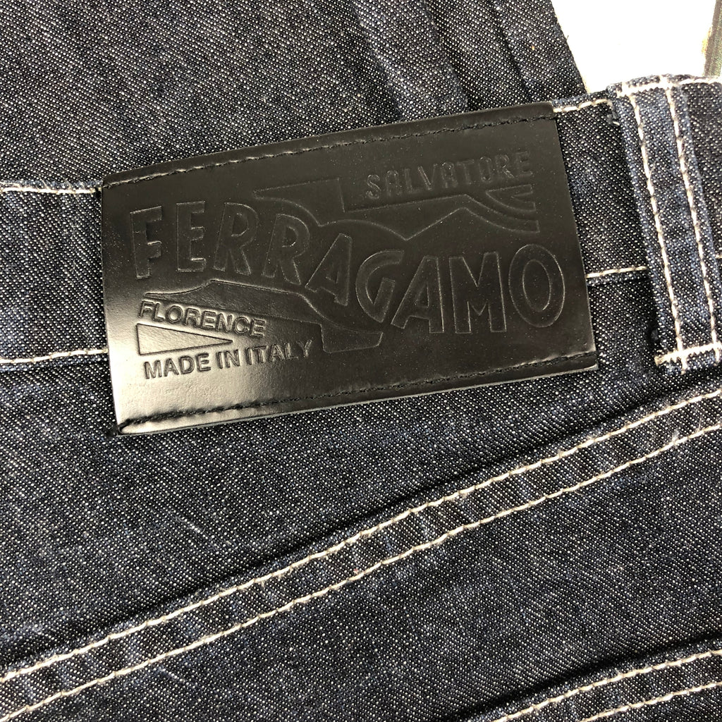 Genuine Salvatore Ferragamo Made in Italy Jeans- Size 31