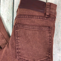 Cheap Monday 'Tight Ice Brown' Jeans - Size 25/32