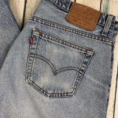 Vintage Button Fly Levis 505's -Size 32