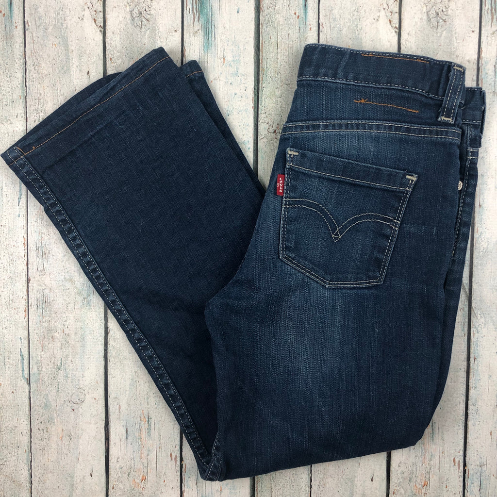 Levis  Stretch Straight Leg Jeans - Size 12