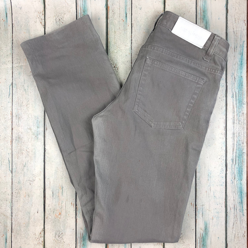Acne Ladies Hep Used Twill Grey Jeans - Size 29/34