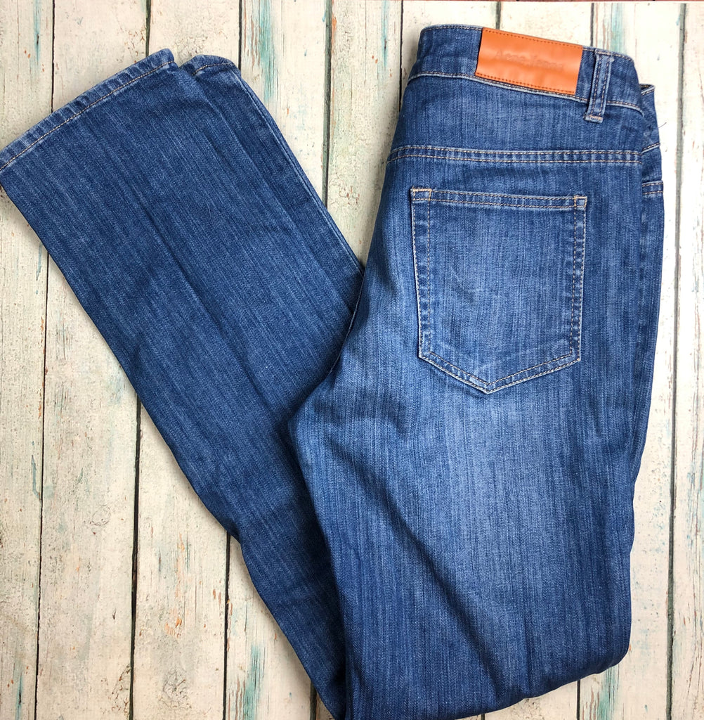 Acne Ladies Straight Leg Jeans - Size 27/34-Jean Pool