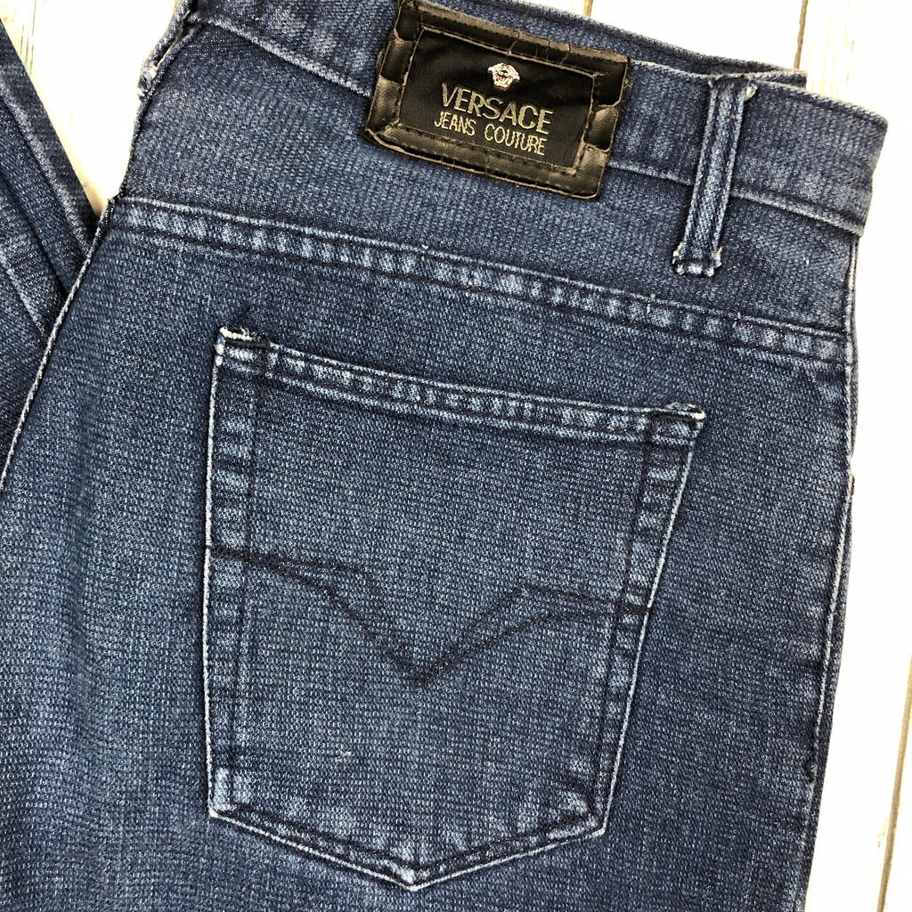Versace 90's Vintage Easy Fit Men's Jeans - Size 38