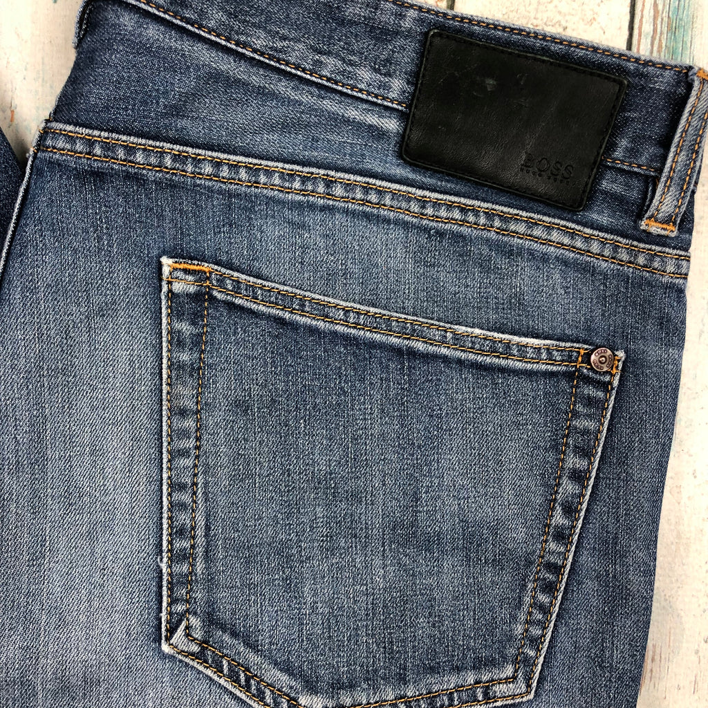 Hugo Boss Men's 'Kansas' Stretch Jeans - Size 36/34