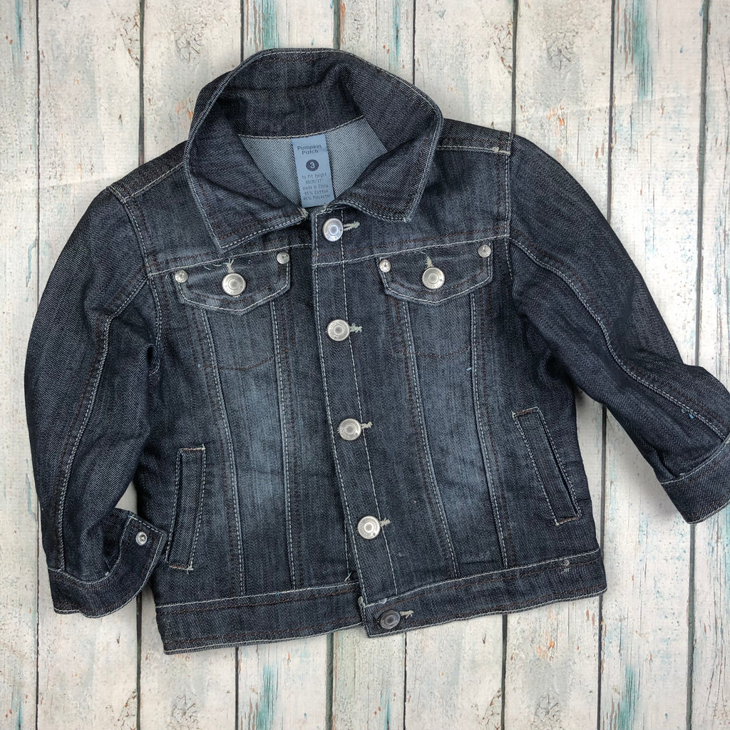 Pumpkin Patch Boys Classic Denim Jacket - Size 3