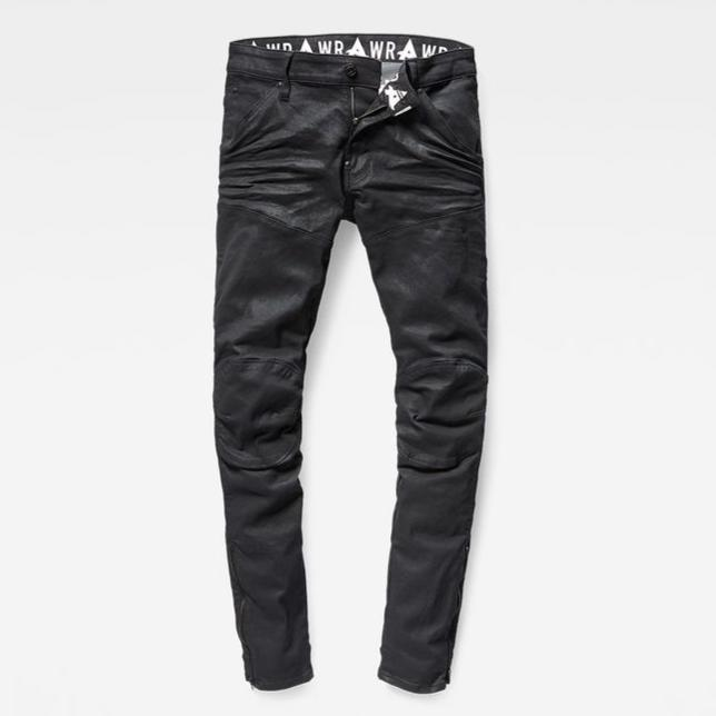 Men's G Star RAW Lim. Ed. Afrojack Zip 3D Super Slim Jeans -Size 31