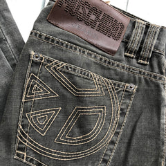 Moschino Jeans Charcoal logo Pocket - Size 33