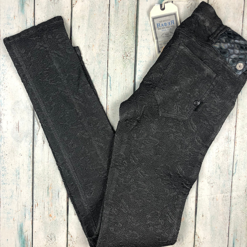 NWT- RA-RE Rag Recycle - Italian Textured Skinny Jeans -Size 30-RA-RE-Jean Pool