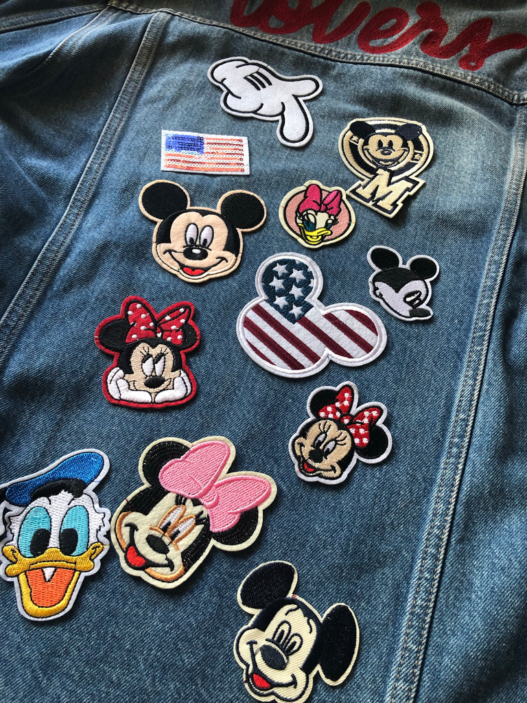 Mickey Glove  - Embroidered Cloth Patch