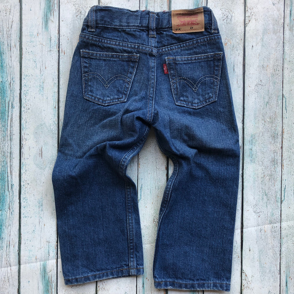 Levis 514 Toddler Jeans - Size 3T