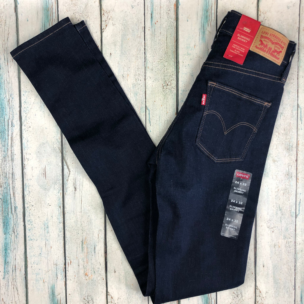 NWT - Levis Shaping Skinny Stretch Jeans -Size 24