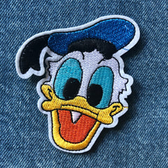 Donald Duck- Embroidered Cloth Patch