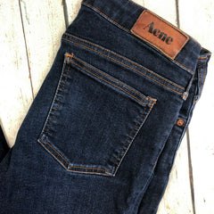 Acne Ladies Low Rise 'Kex Soft Raw' Skinny Jeans - Size 30-ACNE-Jean Pool