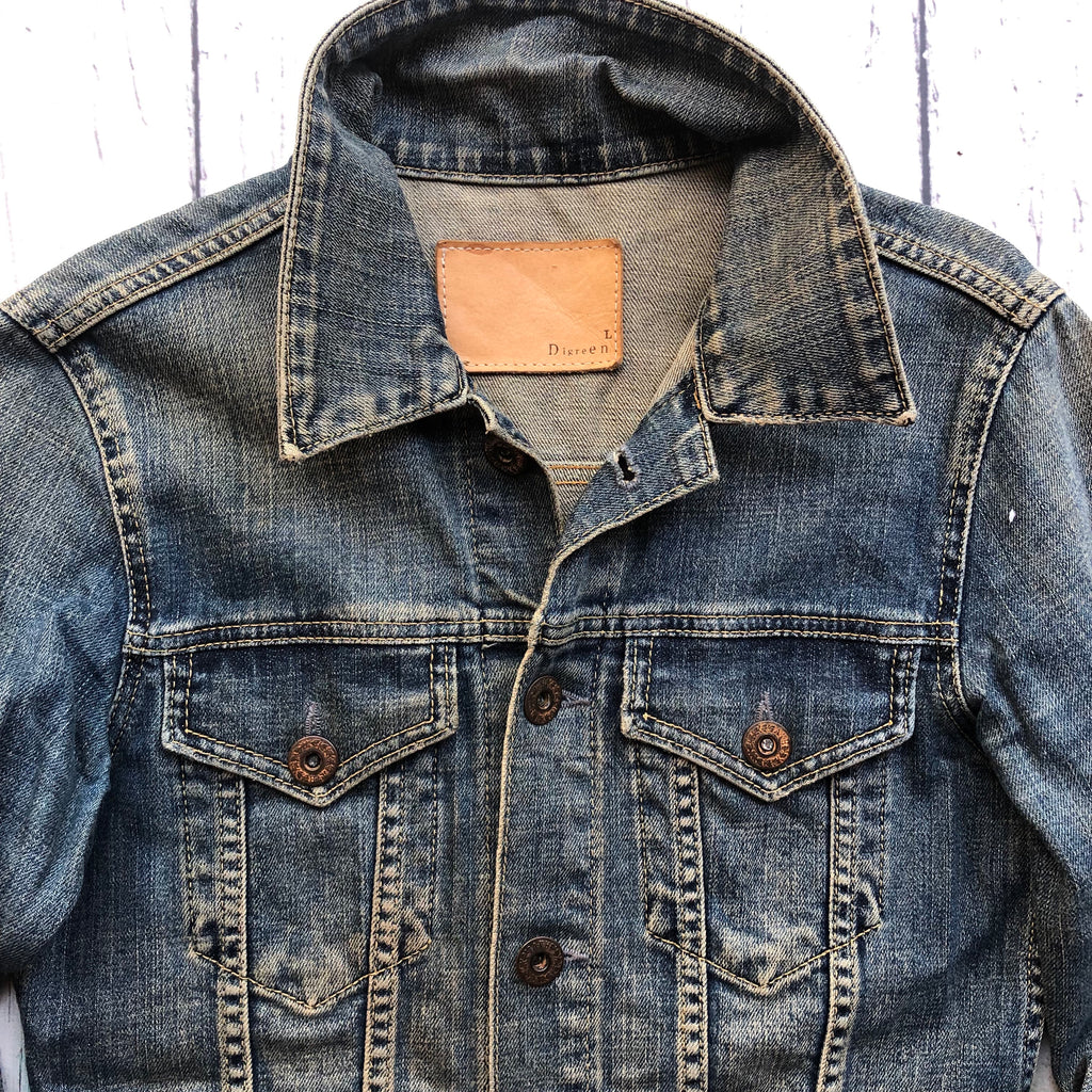 French Digreen Ladies Denim Jacket - Size L