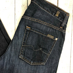 7 for all Mankind - Mens 'the Straight' Straight Leg Jeans - Size 30-7 for all Mankind-Jean Pool