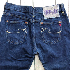 Embellished Replay Denim Jeans- Size 27/32