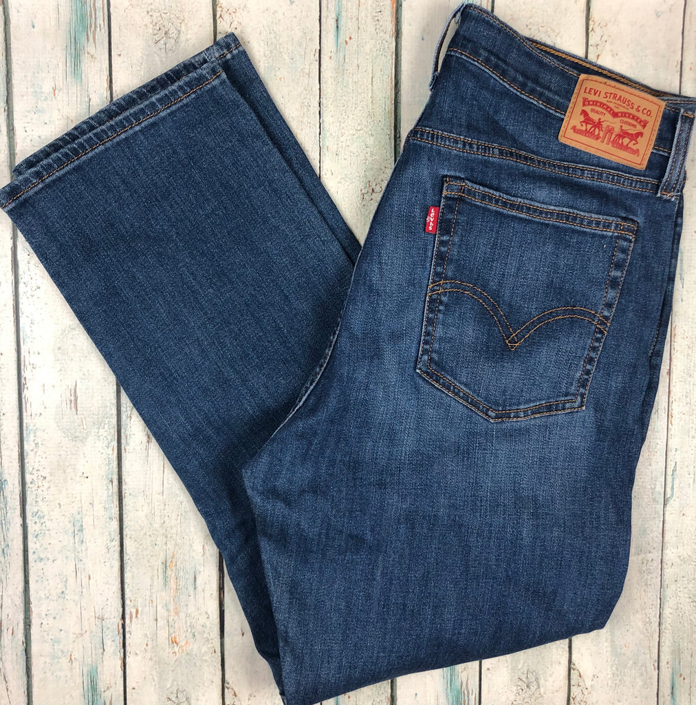 Ladies Levis 'Wedgie Straight' Stretch Denim Jeans   - Size 32